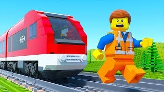 LEGO Movie 2 Train Gym Fail