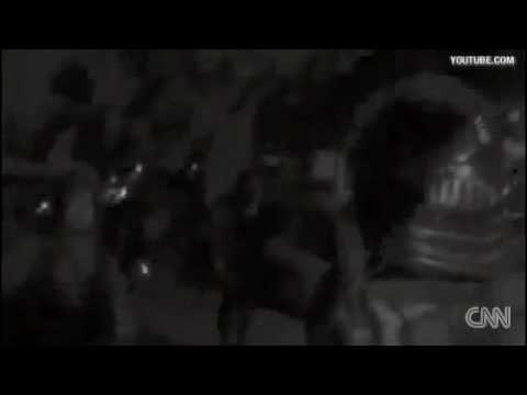 CNN News- Tehran University dorm raid by Riot police