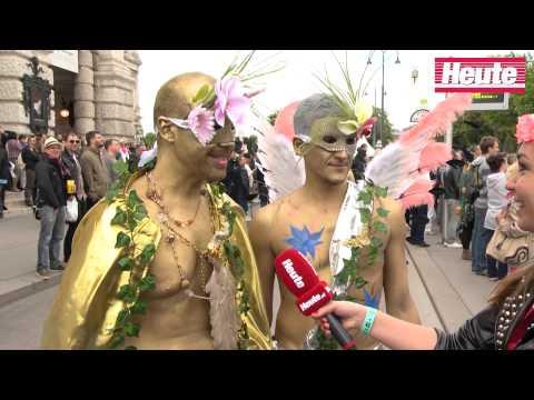 Life Ball 2014 - Die Skurillsten Kostüme & Berühmtesten Gäste
