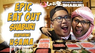 Epic Eat Out #15: Nyabu bareng Usama Duo Harbatah Di Shaburi | PUTRA SIGAR