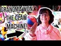 GRANDMA WINS CLAW MACHINE FOR HER FIRST TIME! MP3