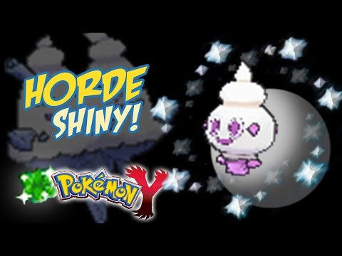 Vanillite Shines in a Horde in Y After 3 Days of Hunting!