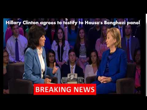 Hillary Clinton To Testify To House's Benghazi Panel