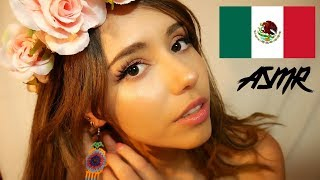 ASMR sharing things from Mexico✈️ (whispering, tapping, fabric sounds)