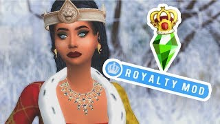 ROYALTY MOD! RULE YOUR OWN KINGDOM // SIMS 4 MOD REVIEW