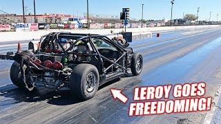 Leroy Version 2.5 is INSANELY FAST! Can The New Bald Eagles Run a SEVEN Second Pass?