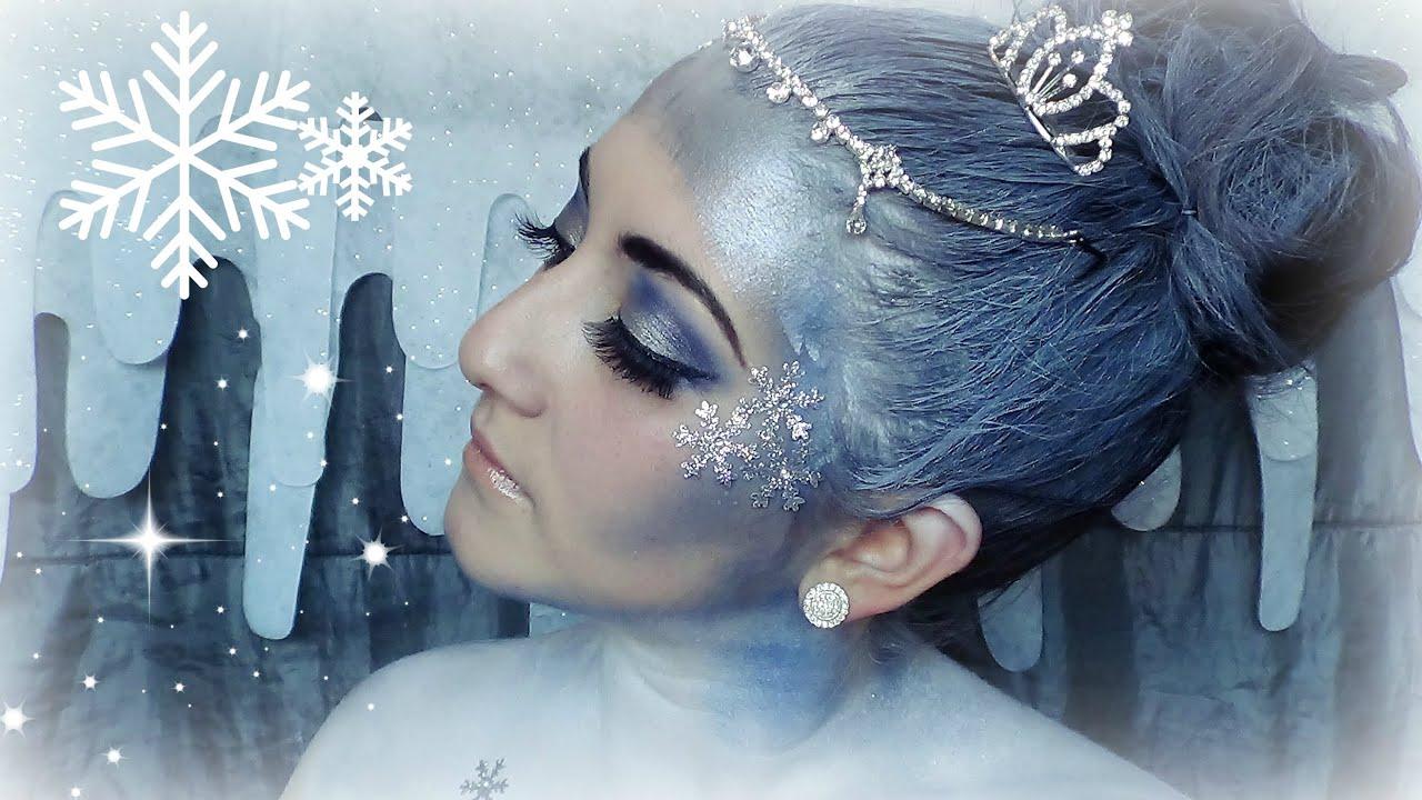 Christmas   Snow Queen Makeup