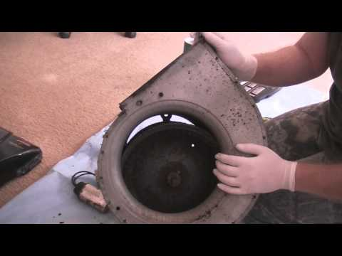 How to bench check a central a c blower motor how to for Central ac blower motor replacement