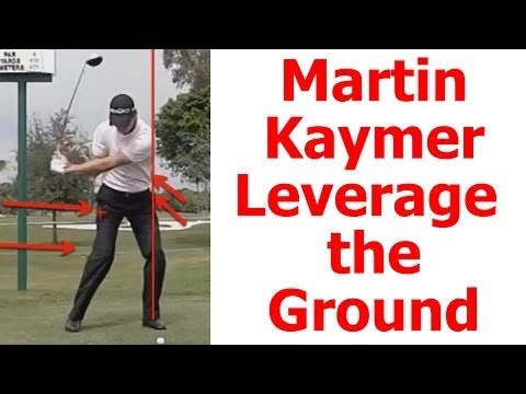 Martin Kaymer Swing Analysis: Distance From the Ground