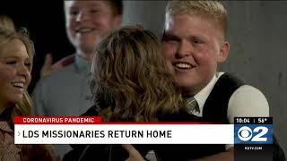Hundreds of LDS missionaries return home amid coronavirus concerns