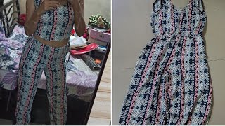 Convert old jumpsuits into designer cords suits    reuse old dress into something new 👗  DIY