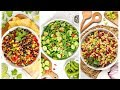 3 Healthy Bean Salad Recipes | Quick + Easy Meal Prep Ideas