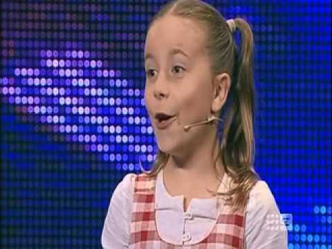 Chloe Marlow Australias Got Talent 2013