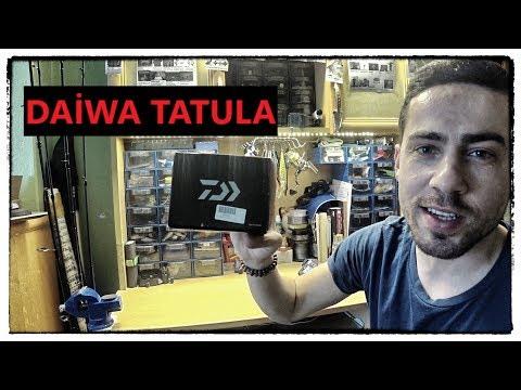 Daiwa TATULA kutu açılımı (Daiwa Tatula unboxing)