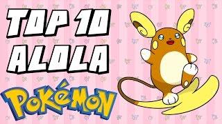 Top 10 Favourite Sun & Moon/Generation 7 Pokemon