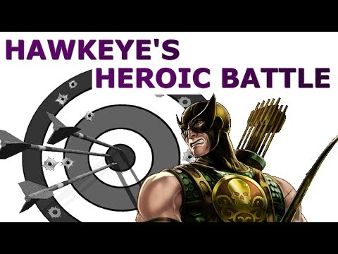 Marvel Avengers Alliance Season 2: Chapter 3, Mission 3 - Hawkeye Heroic Battle