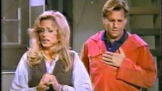 "Farrah Fawcett-Ryan O'Neal in ""Good Sports""~Rare Scenes From Their 1991 T.V. Sitcom"