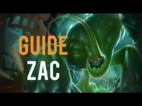 League of legend Zac Tuto fr