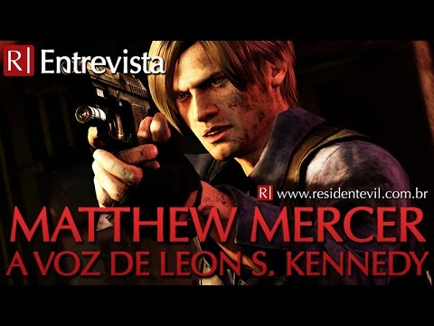 Matthew Mercer, voice actor of Leon S. Kennedy (interview)