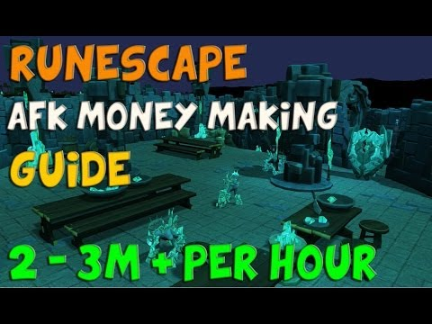 RuneScape 3 AFK Money Making Guide 2m – 3m + per hour 2014 Commentary P2P EoC