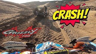 ATV 4x4 off-road CRASH - Zwirownia | Wypadek na Quadzie
