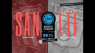 LaLigaArgentinaBancoComafi 09.12.2018 San Isidro vs. Lactear Tiro Federal