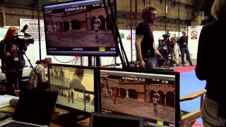 Marvel AVENGERS AGE OF ULTRON Bonus Feature WORKING WITH JAMES SPADER clip