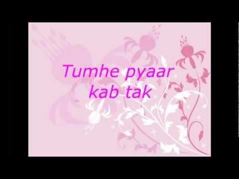 YouTube   Zindagi  do pal ki   Kites lyrics on screen HQ