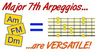 Major 7th Arpeggios Are More Versatile Than You Think