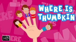 download lagu Where Is Thumbkin - Finger Family Song   gratis