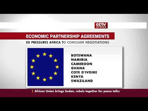AFRICAN COUNTRIES FACE TARIFFS ON EXPORTS TO EU