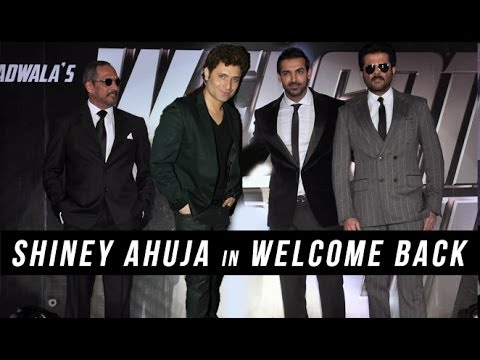 It's A 'Welcome Back' For Shiney Ahuja!