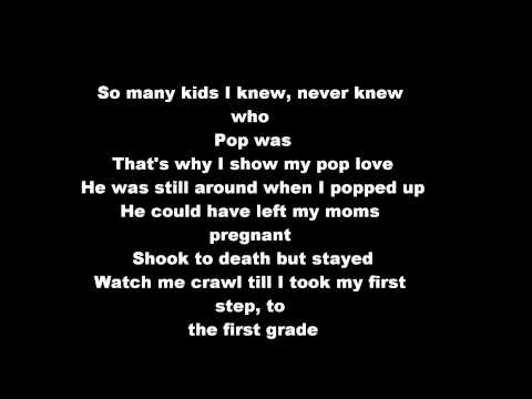 Nas - Poppa Was A Playa (HD & Lyrics On Screen)