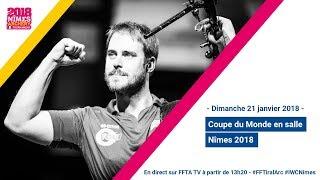 Finales Coupe du monde Indoor Nîmes 2018