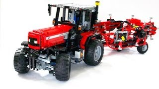 Lego IR RC MF 6270 and Lely Lotus Tedder