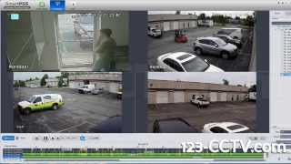 Playback Video from DVR using Smart PSS