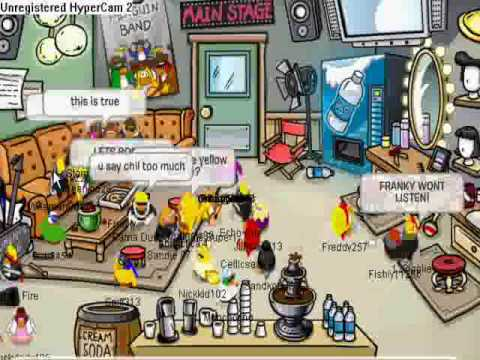Club Penguin-Meeting Penguin Band Music Jam