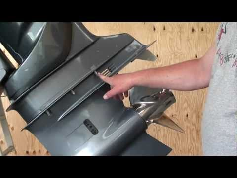 Pt.1 Yamaha F250 Outboard Water Pump Impeller  Replacement At D-Ray's Shop