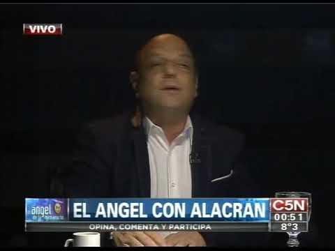 C5N - EL ANGEL DE LA MEDIANOCHE CON ALACRAN