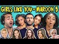 ADULTS REACT TO GIRLS LIKE YOU   MAROON 5 (Ft. Cardi B)