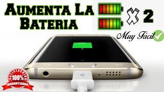 Como Duplicar la Batería de tu Teléfono | Compruébalo 100% REAL