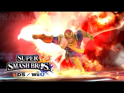 Super Smash Bros Wii U / 3DS - Lucina/Captain Falcon/Robin Trailer [1080p] TRUE-HD QUALITY