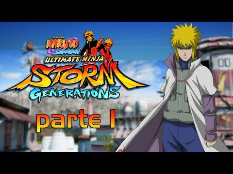 Naruto Ultimate Ninja Storm Generation - Storia Di Minato Parte 1/2