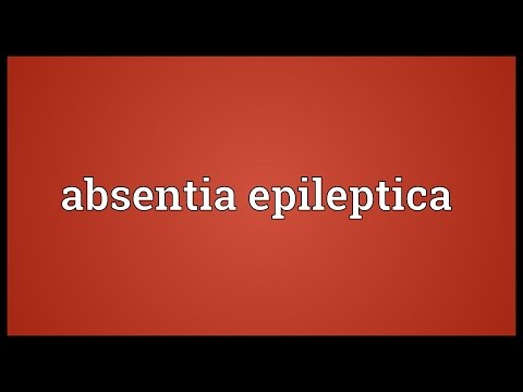 Header of Absentia Epileptica