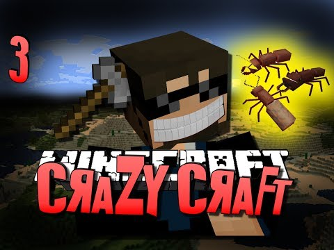 Minecraft CRAZY CRAFT 3 - MINER'S DREAM (Minecraft Mod Survival)