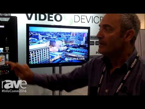 InfoComm 2016: Sound Devices Exhibits Video Devices PIX-E5 Monitor