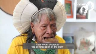 Interview with Kayapó leader Raoni Metuktire