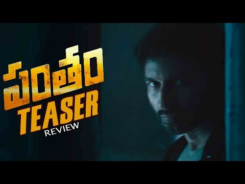 Pantham Movie Teaser Review | Gopichand,Mehreen | Latest Telugu Movie News