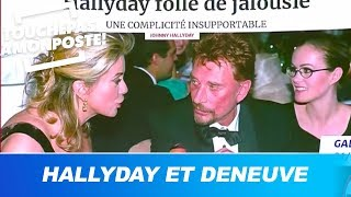 La relation ambiguë entre Johnny Hallyday et Catherine Deneuve