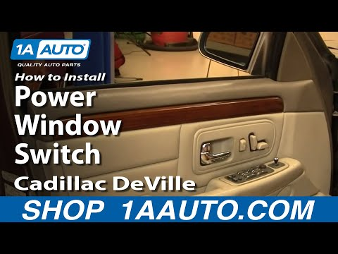How To Install Replace Power Window Switch Cadillac DeVille 97-99 1AAuto.com
